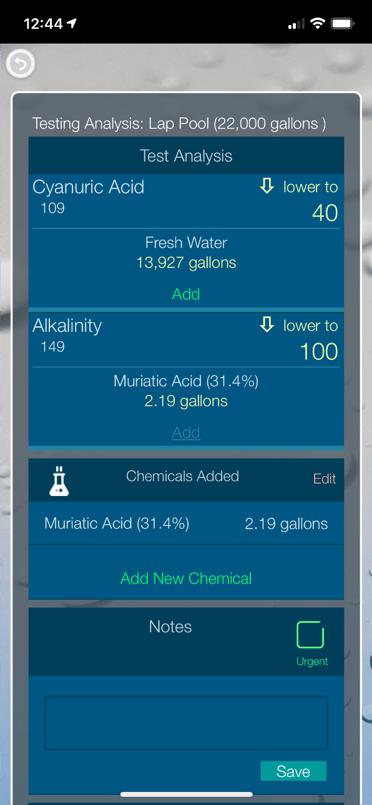 App Chemistry Report